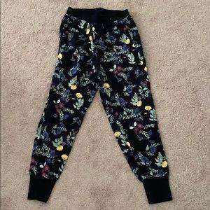Pants - Flower sweatpants